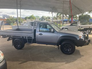 2009 Mazda BT-50 08 Upgrade B3000 DX (4x4) Grey 5 Speed Manual Cab Chassis.