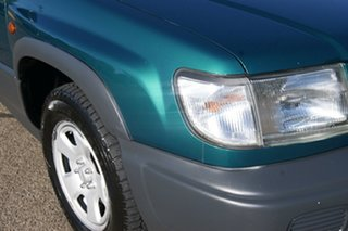 1998 Subaru Forester GX Green 4 Speed Automatic Wagon.