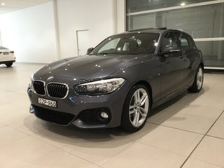 2015 BMW 1 Series F20 LCI 120i Steptronic Sport Line Grey 8 Speed Sports Automatic Hatchback
