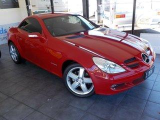2005 Mercedes-Benz SLK-Class R171 MY06 SLK200 Kompressor Red 5 Speed Automatic Roadster.