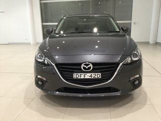 2016 Mazda 3 BM5278 Touring SKYACTIV-Drive Grey 6 Speed Sports Automatic Sedan