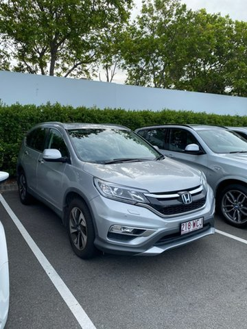 Used Honda CR-V RM Series II MY16 VTi-L Mount Gravatt, 2015 Honda CR-V RM Series II MY16 VTi-L Silver 5 Speed Sports Automatic Wagon