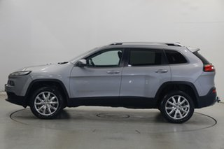 2014 Jeep Cherokee KL MY15 Limited Silver 9 Speed Sports Automatic Wagon.