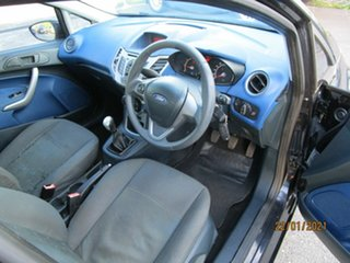 2009 Ford Fiesta WS CL Black 5 Speed Manual Hatchback