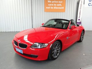 2007 BMW Z4 E85 MY07 Steptronic Red 6 Speed Sports Automatic Roadster.