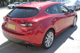 2016 Mazda 3 BM5436 SP25 SKYACTIV-MT Red 6 Speed Manual Hatchback
