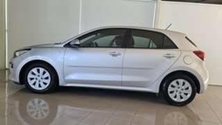 2018 Kia Rio YB MY18 S Silver, Chrome 4 Speed Sports Automatic Hatchback