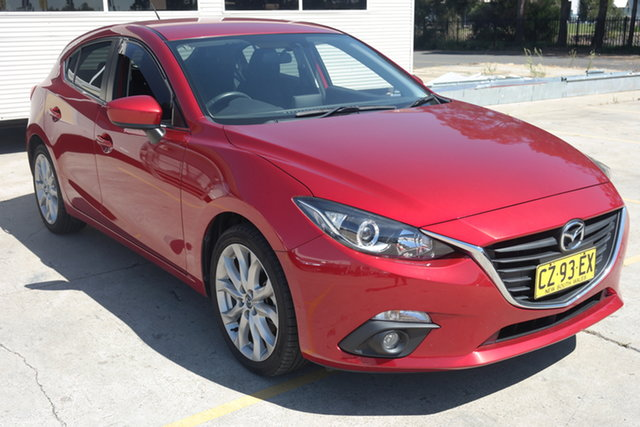 Used Mazda 3 BM5436 SP25 SKYACTIV-MT Maryville, 2016 Mazda 3 BM5436 SP25 SKYACTIV-MT Red 6 Speed Manual Hatchback