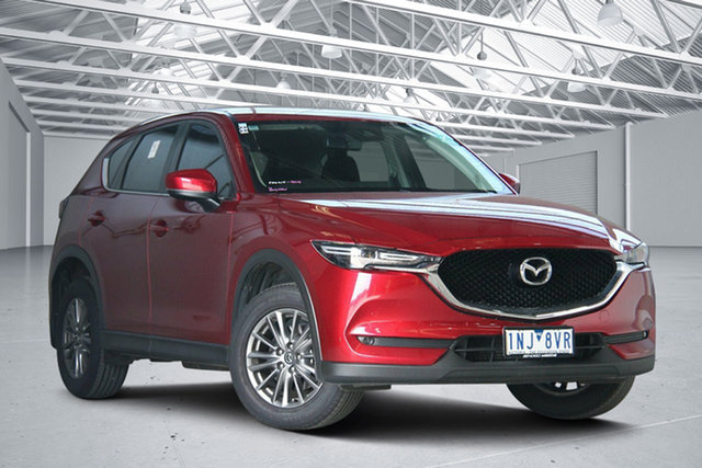 Used Mazda CX-5 MY18 (KF Series 2) Maxx Sport (4x4) Altona North, 2018 Mazda CX-5 MY18 (KF Series 2) Maxx Sport (4x4) Red 6 Speed Automatic Wagon