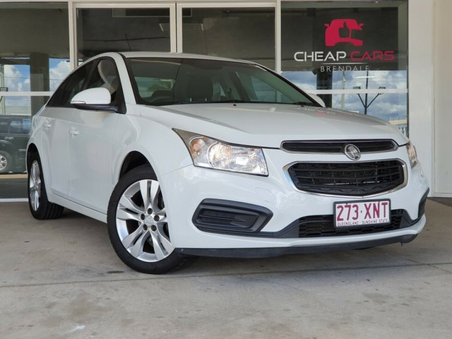 Used Holden Cruze JH Series II MY15 Equipe Brendale, 2015 Holden Cruze JH Series II MY15 Equipe White 6 Speed Sports Automatic Sedan