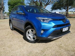 2018 Toyota RAV4 ASA44R MY18 GX (4x4) Blue Gem 6 Speed Automatic Wagon.
