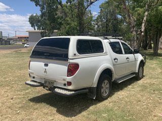 2012 Mitsubishi Triton MN MY12 GLX White 5 Speed Manual Utility