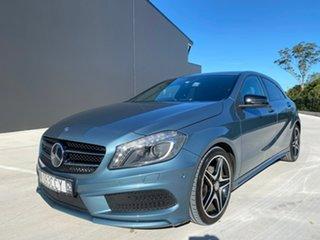 2013 Mercedes-Benz A-Class W176 A200 D-CT Blue 7 Speed Sports Automatic Dual Clutch Hatchback.