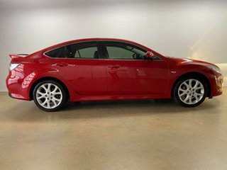 2009 Mazda 6 GH MY09 Luxury Sports Red 5 Speed Auto Activematic Hatchback.
