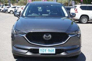 2018 Mazda CX-5 KF4W2A Akera SKYACTIV-Drive i-ACTIV AWD Grey 6 Speed Sports Automatic Wagon.
