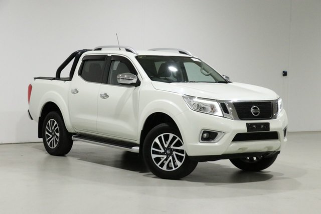 Used Nissan Navara D23 Series II ST-X (4x4) Bentley, 2017 Nissan Navara D23 Series II ST-X (4x4) Pearl White 7 Speed Automatic Dual Cab Utility