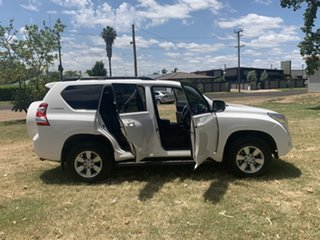 2016 Toyota Landcruiser Prado GDJ150R GXL White 6 Speed Manual Wagon