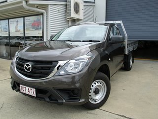 2019 Mazda BT-50 UR0YE1 XT 4x2 Bronze 6 Speed Manual Cab Chassis.