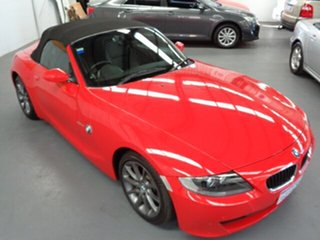 2007 BMW Z4 E85 MY07 Steptronic Red 6 Speed Sports Automatic Roadster