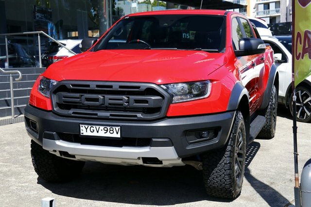 Used Ford Ranger PX MkIII 2019.00MY Raptor Homebush, 2018 Ford Ranger PX MkIII 2019.00MY Raptor Red 10 Speed Sports Automatic Utility