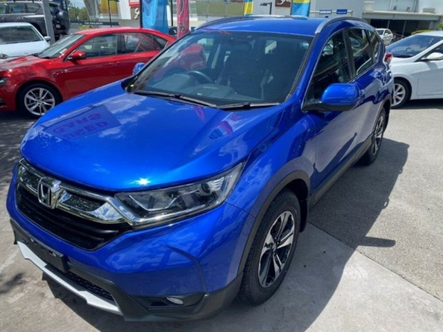 Used Honda CR-V RW MY20 VTi FWD Springwood, 2019 Honda CR-V RW MY20 VTi FWD Brilliant Sporty Blue 1 Speed Constant Variable Wagon