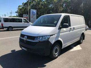 2020 Volkswagen Transporter T6.1 MY21 TDI340 SWB DSG White 7 Speed Sports Automatic Dual Clutch Van