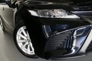 2018 Toyota Camry AXVH71R Ascent Sport Hybrid Black Continuous Variable Sedan.