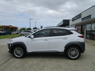 2020 Hyundai Kona OS.3 MY20 Elite 2WD White 6 Speed Sports Automatic Wagon.