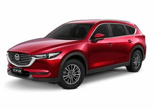 2020 Mazda CX-8 KG2WLA Sport SKYACTIV-Drive FWD Red 6 Speed Sports Automatic Wagon.