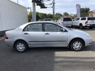 2003 Toyota Corolla ZZE122R Ascent Silver 4 Speed Automatic Sedan.