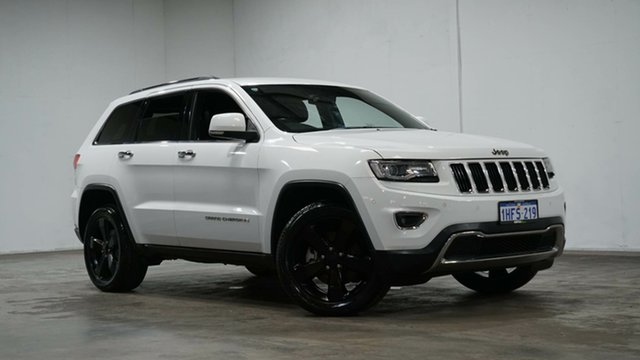Used Jeep Grand Cherokee WK MY2014 Limited Welshpool, 2014 Jeep Grand Cherokee WK MY2014 Limited White 8 Speed Sports Automatic Wagon