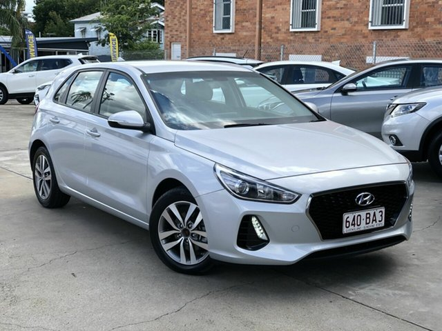 Used Hyundai i30 PD2 MY19 Active Chermside, 2019 Hyundai i30 PD2 MY19 Active Silver 6 Speed Sports Automatic Hatchback