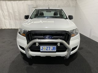 2017 Ford Ranger PX MkII XL Hi-Rider Cool White 6 Speed Sports Automatic Cab Chassis