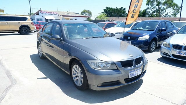 Used BMW 3 Series E90 320i Steptronic St James, 2006 BMW 3 Series E90 320i Steptronic Grey 6 Speed Automatic Sedan