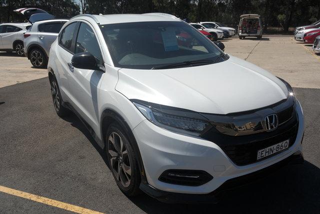 Used Honda HR-V MY20 RS Maryville, 2019 Honda HR-V MY20 RS White 1 Speed Constant Variable Hatchback