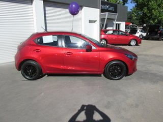 2015 Mazda 2 DJ2HAA Neo SKYACTIV-Drive Red 6 Speed Sports Automatic Hatchback