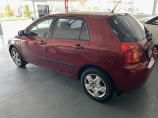 2006 Toyota Corolla ZZE122R Ascent Sport Seca Red 5 Speed Manual Hatchback
