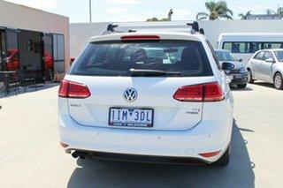 2016 Volkswagen Golf VII MY17 92TSI DSG Trendline White 7 Speed Sports Automatic Dual Clutch Wagon