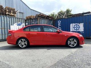 2011 Ford Falcon FG MkII XR6 Red 6 Speed Sports Automatic Sedan.