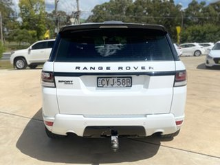 2015 Land Rover Range Rover Sport SDV8 - HSE White Sports Automatic Wagon.
