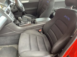 2011 Ford Falcon FG MkII XR6 Red 6 Speed Sports Automatic Sedan