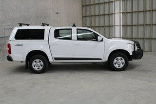 2015 Holden Colorado RG MY15 LS Crew Cab White 6 speed Automatic Utility.