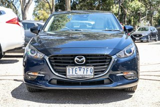 2016 Mazda 3 BM5278 Touring SKYACTIV-Drive Deep Crystal Blue 6 Speed Sports Automatic Sedan