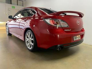 2009 Mazda 6 GH MY09 Luxury Sports Red 5 Speed Auto Activematic Hatchback