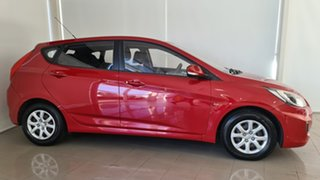 2012 Hyundai Accent RB Elite Red 4 Speed Sports Automatic Hatchback