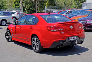 2015 Holden Commodore VF MY15 SV6 Storm Red 6 Speed Sports Automatic Sedan.