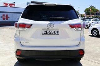 2015 Toyota Kluger GSU50R GXL 2WD Crystal Pearl 6 Speed Automatic Wagon