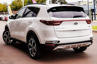 2020 Kia Sportage QL MY21 GT-Line AWD White 6 Speed Sports Automatic Wagon