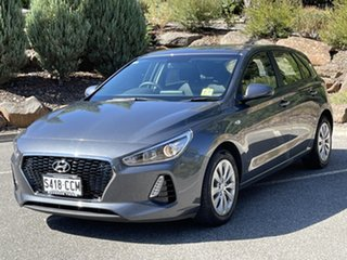 2019 Hyundai i30 PD MY19 Go Iron Gray 6 Speed Sports Automatic Hatchback.