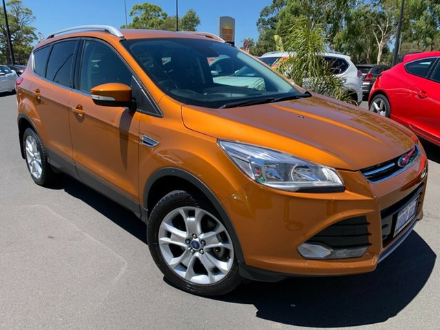 Used Ford Kuga TF MY16.5 Trend AWD Bunbury, 2016 Ford Kuga TF MY16.5 Trend AWD Orange 6 Speed Sports Automatic Wagon